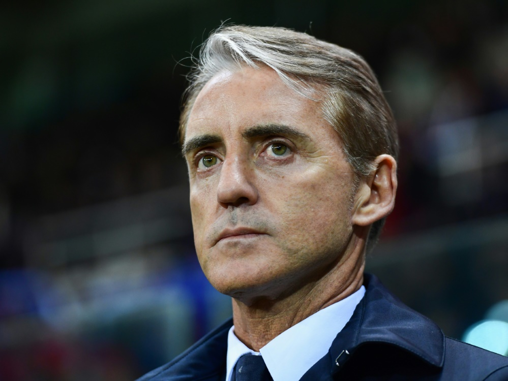 Sieht in Juventus Turin den Favoriten: Roberto Mancini