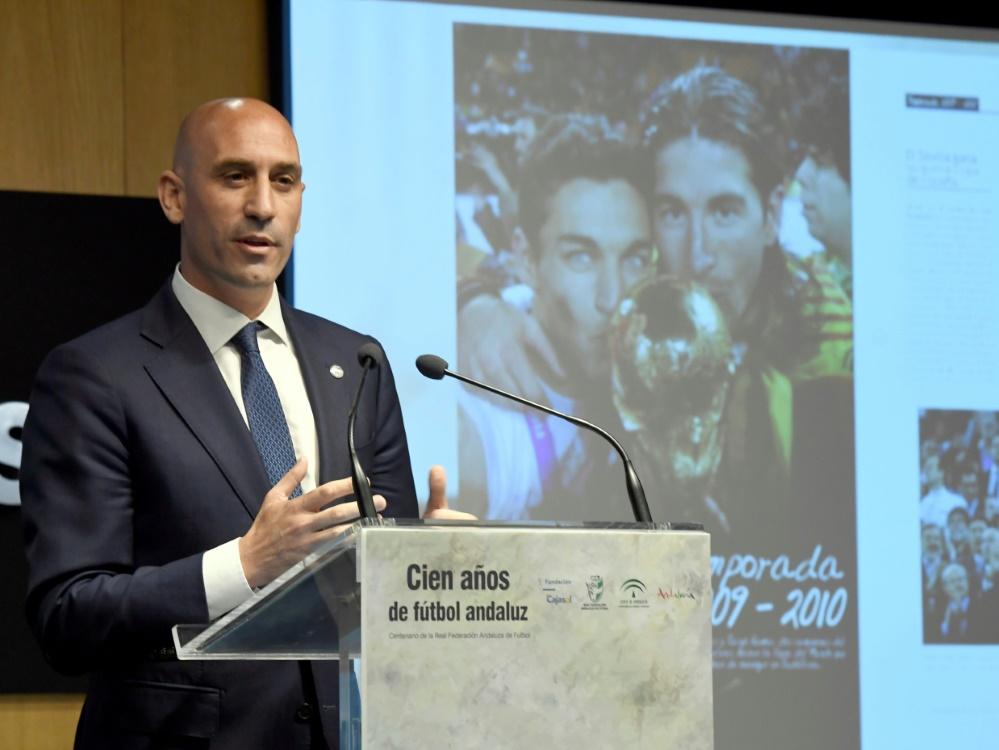 Präsident des spanischen Verbands RFEF: Luis Rubiales