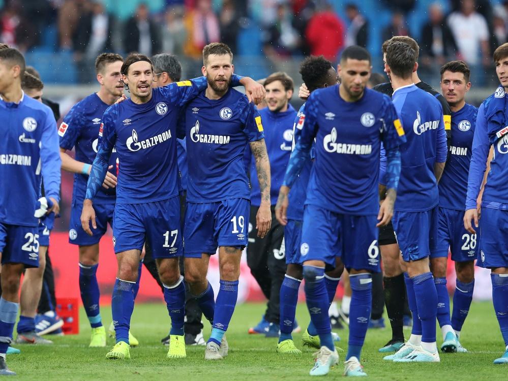 Die Schalke-Profis befinden sich nun im Cybertraining