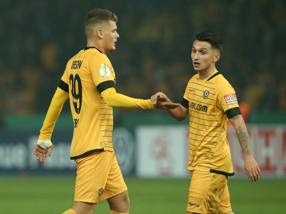 Dynamo Dresden kann auf seinen Hauptsponsor zählen