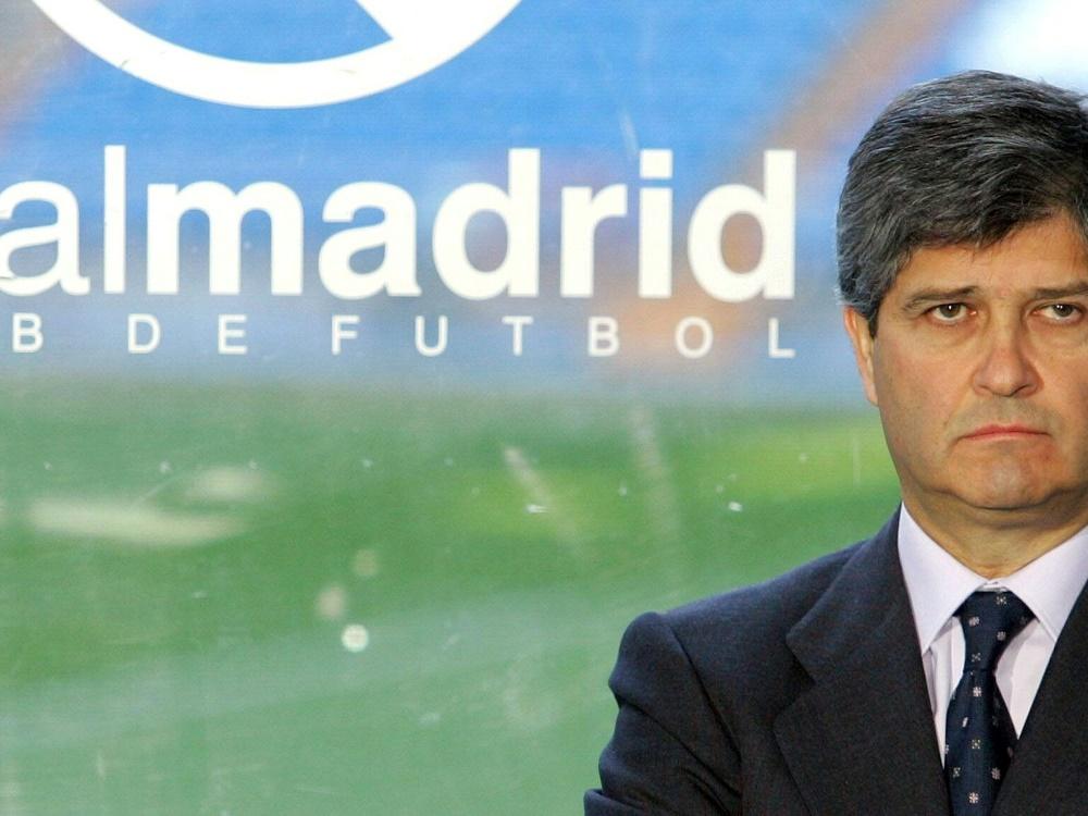 Martin war nur 2 Monate Präsident von Real Madrid