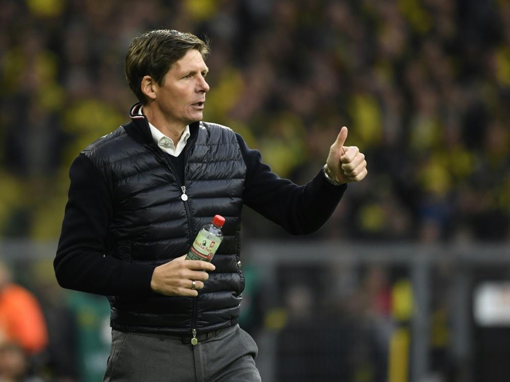 Wolfsburg ist seit einer Woche wieder im Training