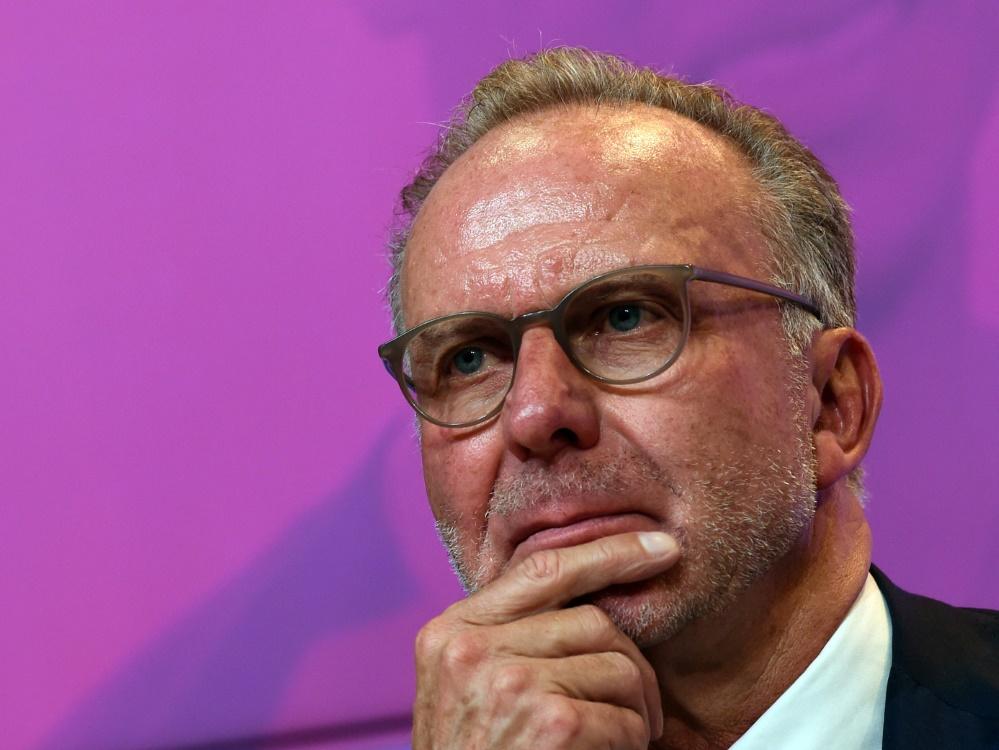 Karl-Heinz Rummenigge regt Krisen-Deal mit Sky an