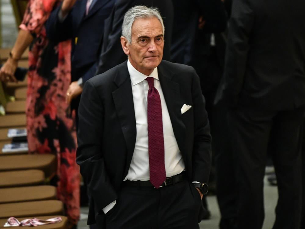 Gabriele Gravina, Präsident des FIGC