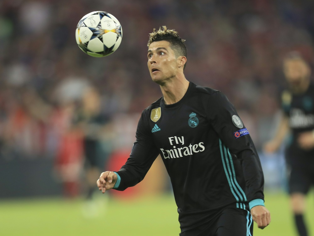 Starfußballer Christiano Ronaldo
