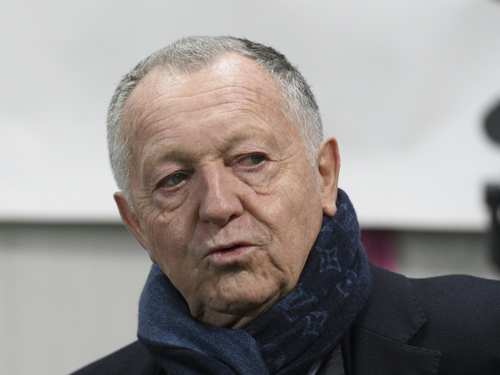 Olympique Lyons Präsident Jean-Michel Aulas
