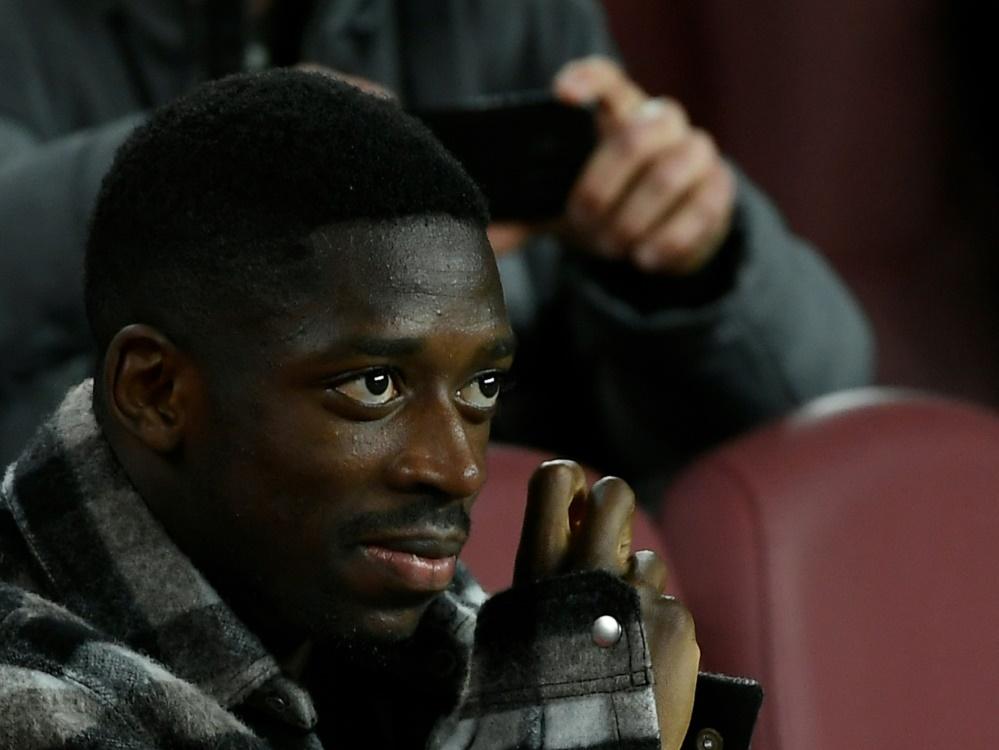 Ist zurück auf dem Platz: Ousmane Dembele