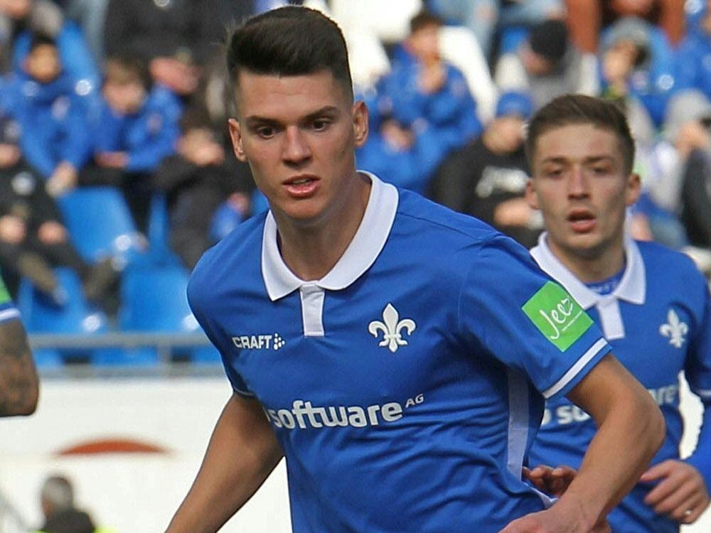 Mathias Honsak traf in der 7. Minute für die Lilien