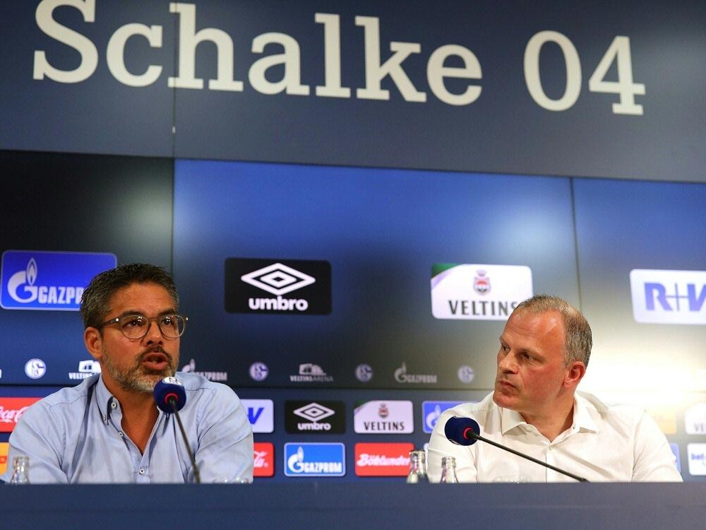 Trotz Krise: Schneider (r.) setzt auf Trainer Wagner