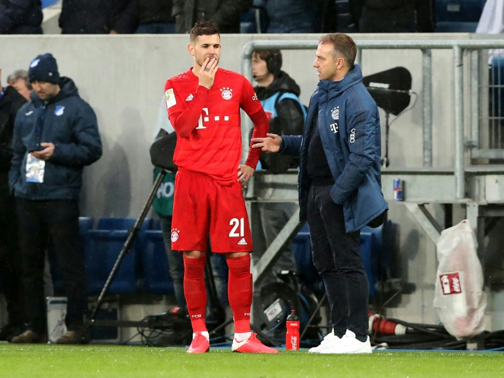 Lucas Hernandez tut sich schwer in München