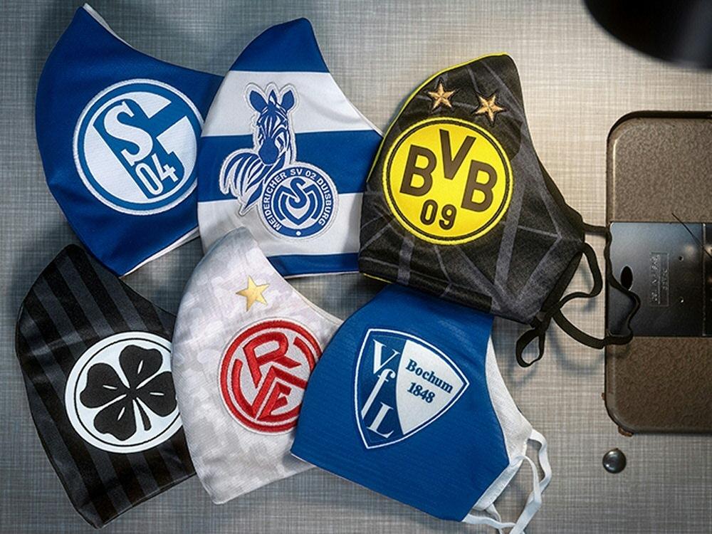Ruhrgebiet-Klubs starten gemeinsame Masken-Aktion