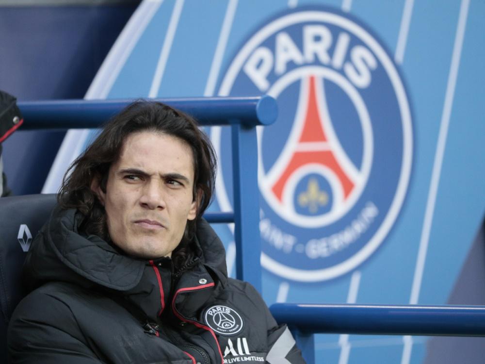 Edinson Cavani verlässt Paris im Sommer