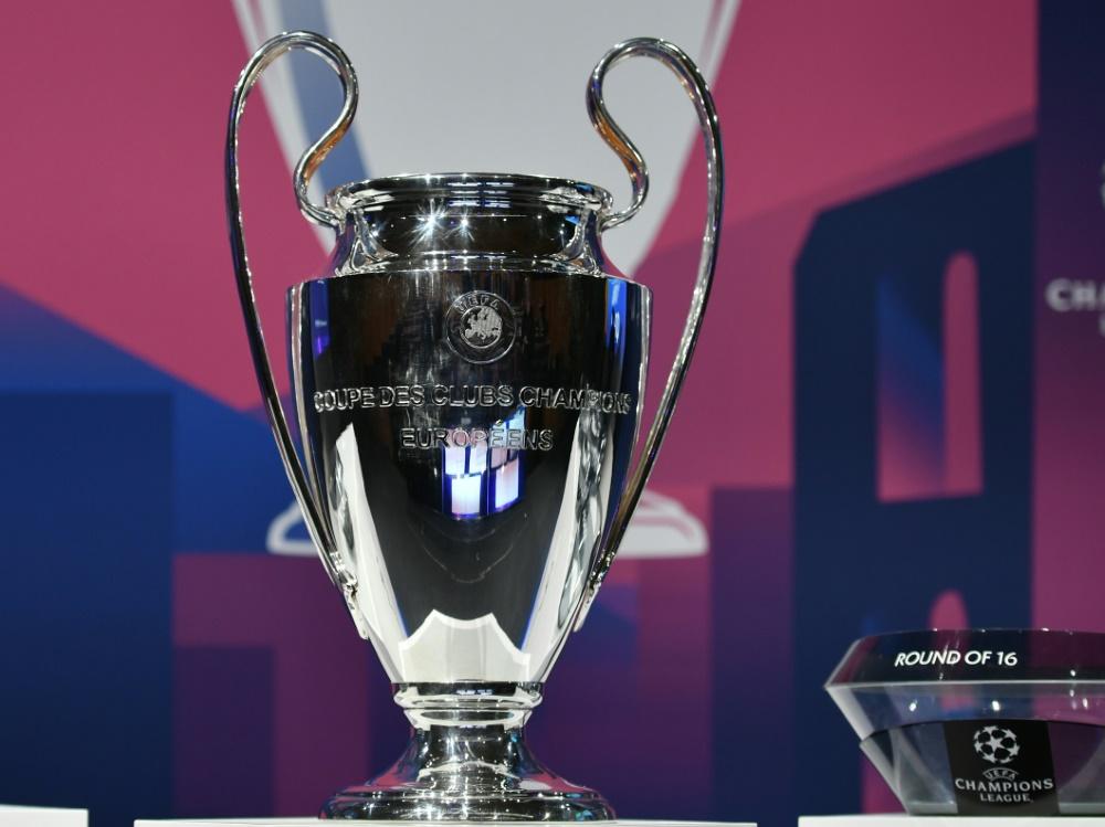 Champions League soll mit Finalturnier beendet werden