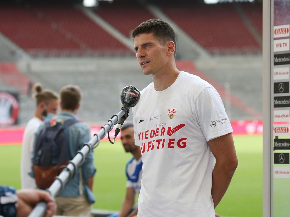 Mit Gomez gelingt Stuttgart der Bundesliga-Aufstieg
