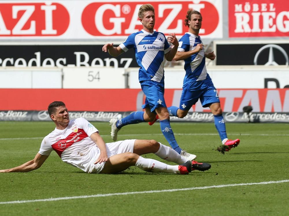 Im seinem letzten VfB-Spiel traf Mario Gomez zum 1:1