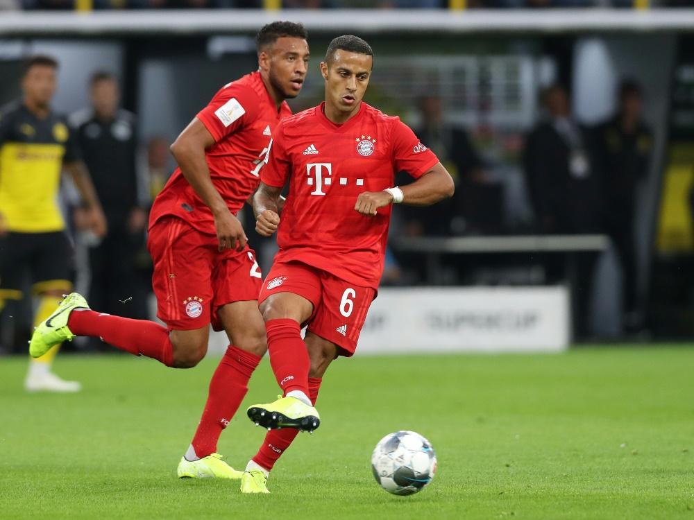 Thiago und Tolisso sind zurück im Mannschaftstraining