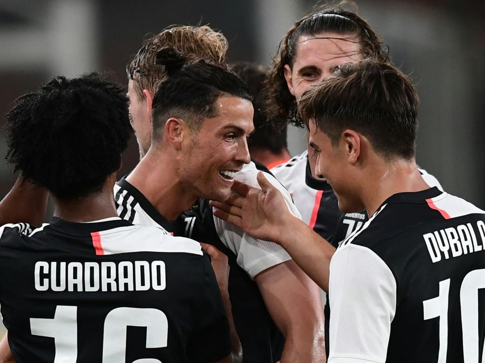 Ronaldo (M.) trug sich in die Torschützenliste ein