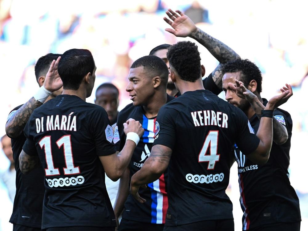 PSG gewann gegen Le Havre souverän mit 9:0