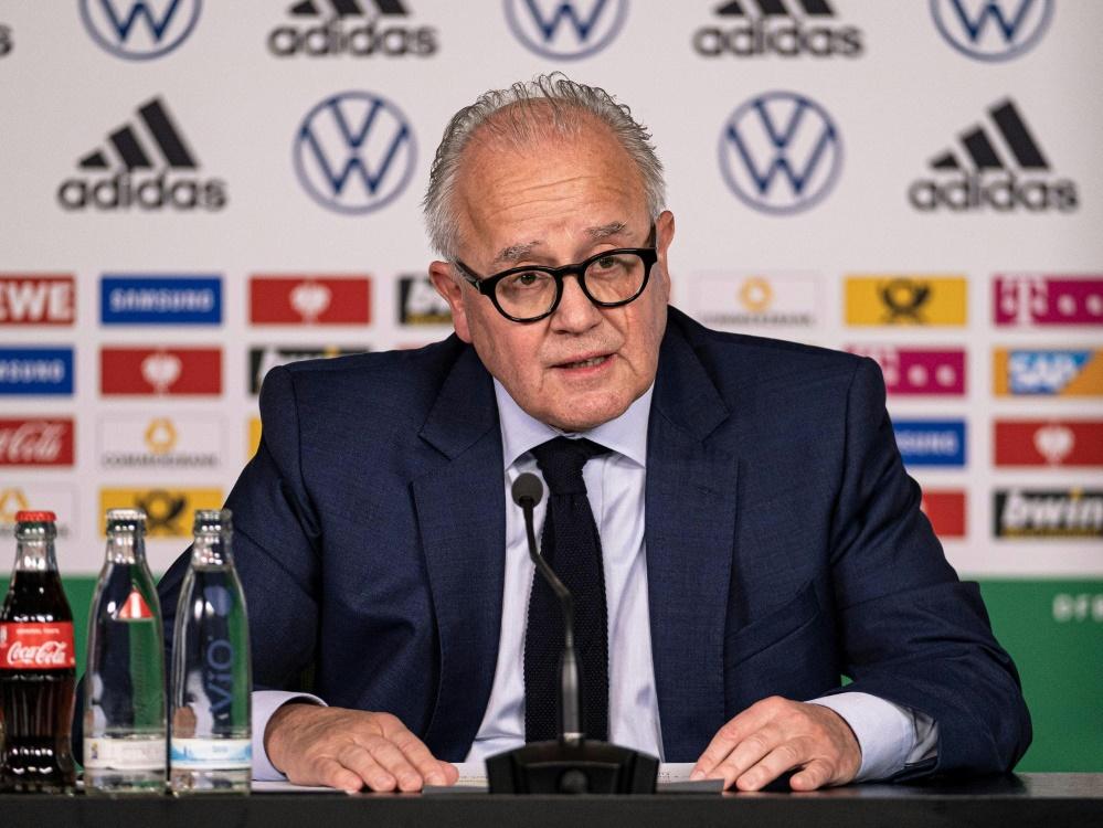 Nimmt die DFB-Pokal-Auslosung vor: Fritz Keller