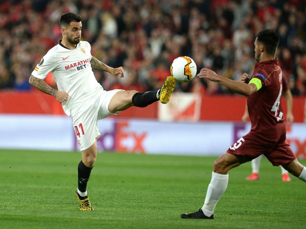 Sevilla hat die Kaufoption für Suso (l.) gezogen