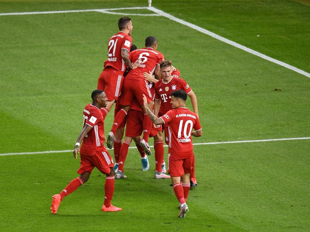 Die Bayern gehen als Titelverteidiger in den DFB-Pokal