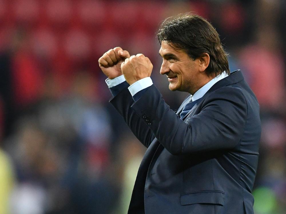 Bis 2022 bleibt Zlatko Dalic kroatischer Nationaltrainer