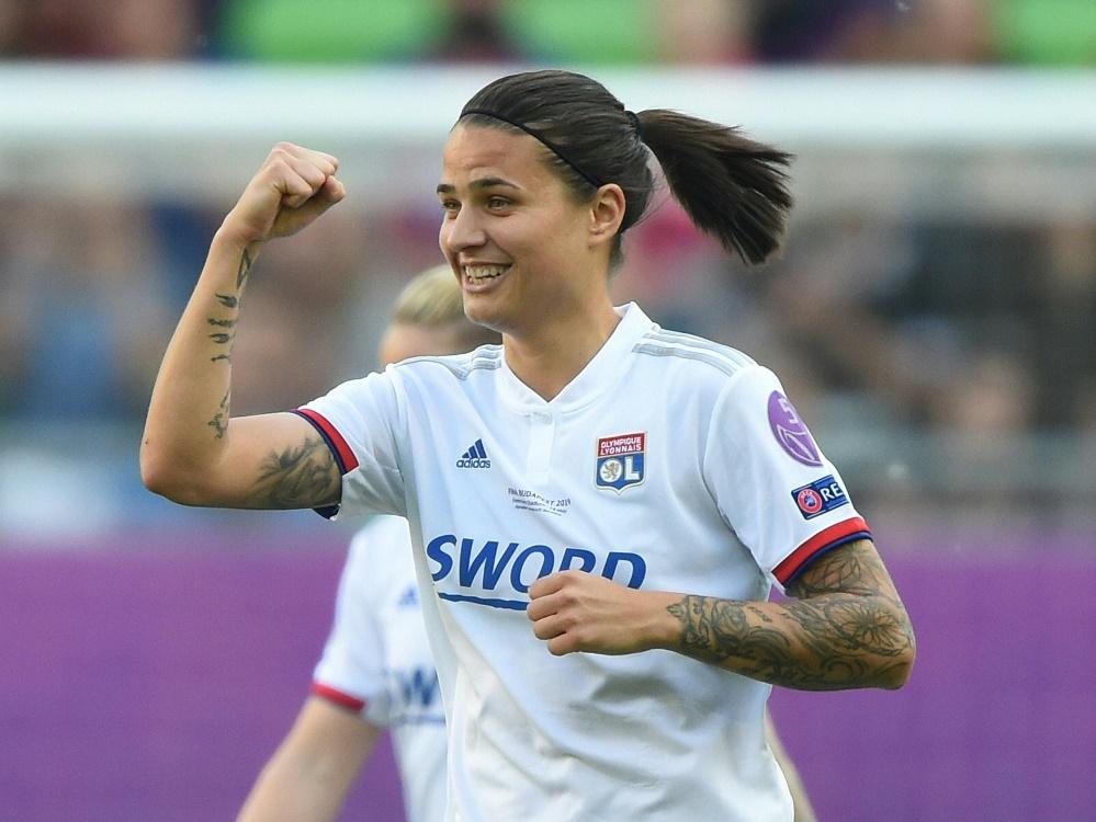 Dzsenifer Marozsan steht mit Lyon im Pokalfinale