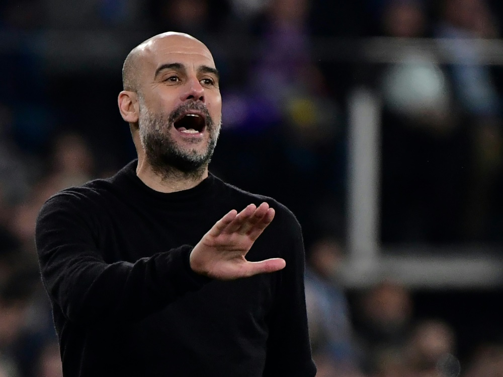 Ohne Champions-League-Sieg unzufrieden: Pep Guardiola