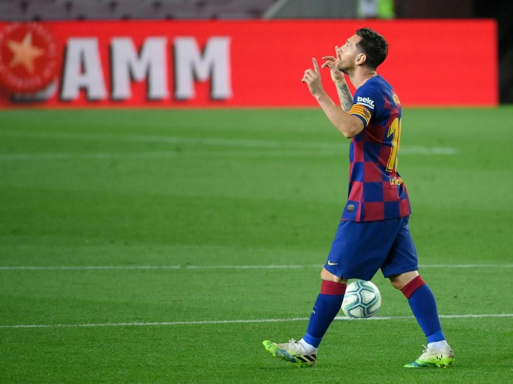 Sein Wechsel nach Mailand scheint utopisch: Lionel Messi