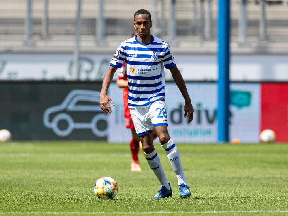 Ben Balla war zuletzt für den MSV Duisburg aktiv