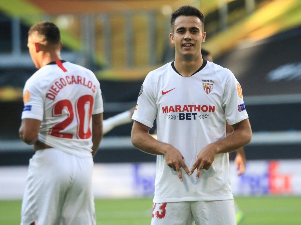 Traf zum 1:0: Sergio Reguilon