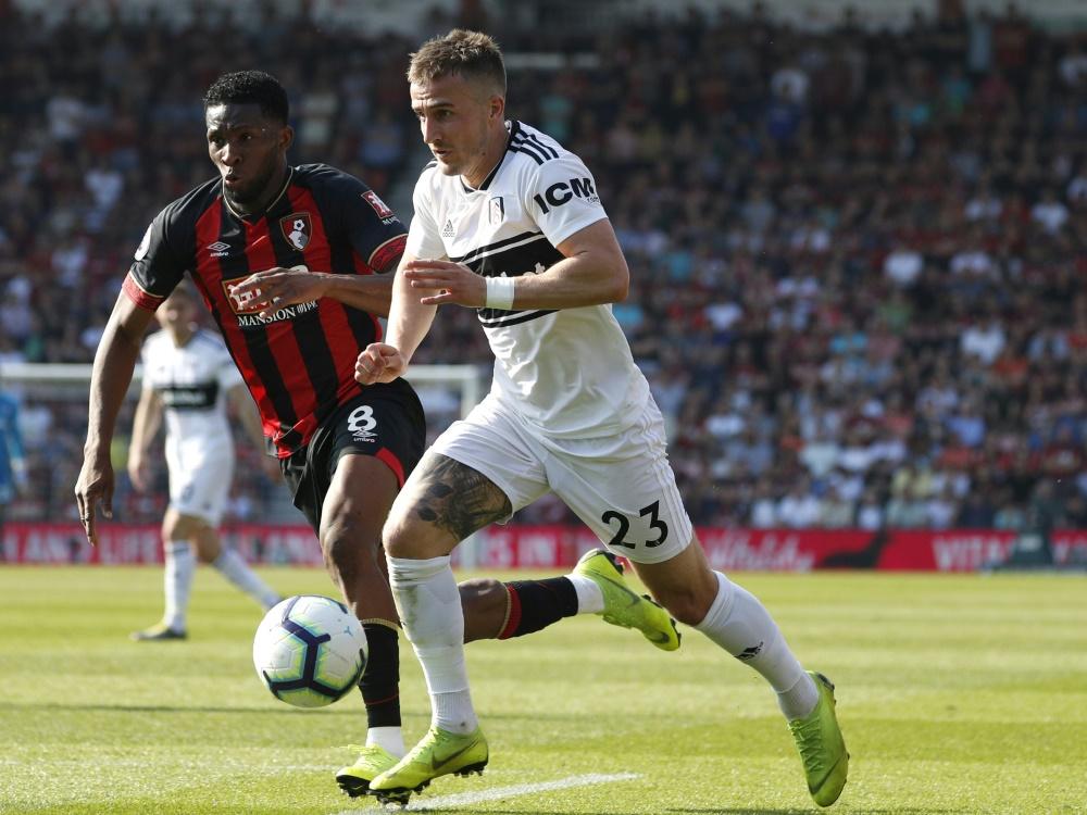 Joe Bryan (r.) erzielte beide Treffer für Fulham