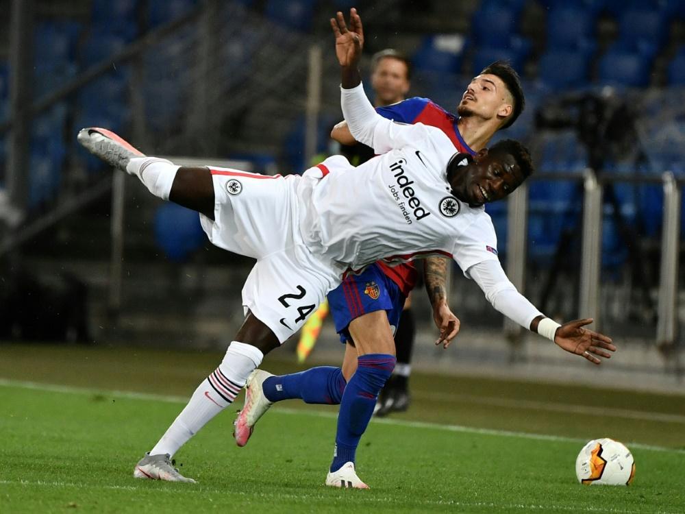 Auch im Rückspiel unterliegt die Eintracht dem FC Basel