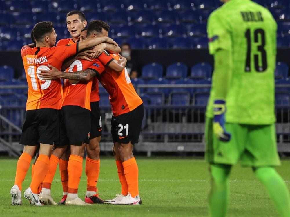 Schachtjor Donezk gewann souverän gegen den FC Basel