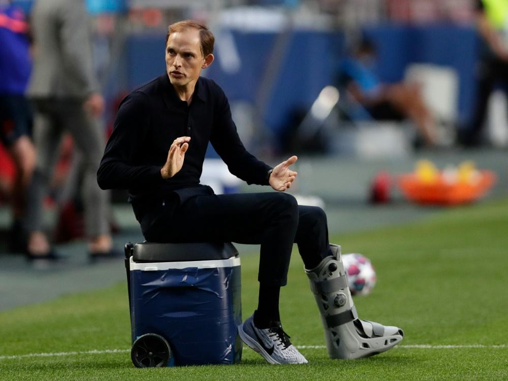 Tuchel ist seit 2018 Trainer von Paris St. Germain