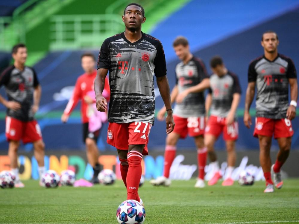 Alaba war bereits Spieler der Triple-Mannschaft von 2013