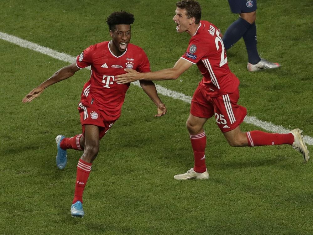 Goldenes Tor: Coman schießt Bayern zum Titel