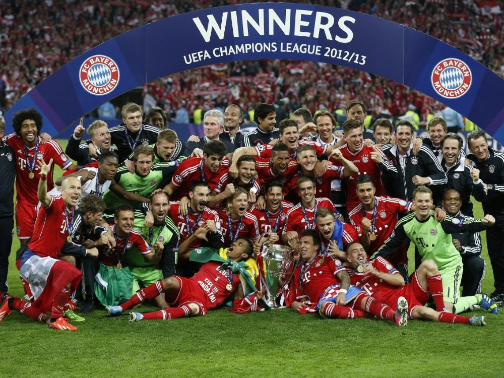 2013 holte der FC Bayern das Triple