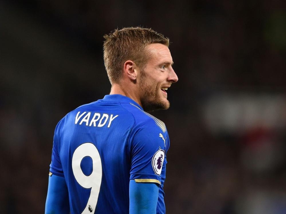 Stürmer Jamie Vardy verlängert seinen Vertrag bis 2023