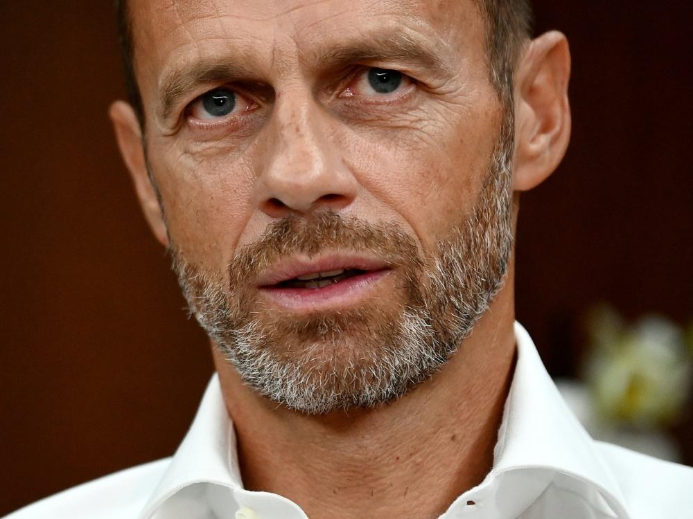 Ceferin will Überraschungsteams im Europapokal belohnen