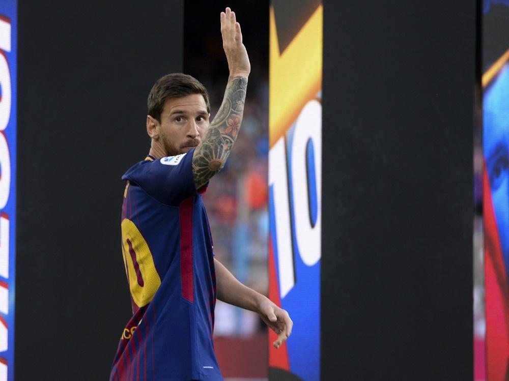 Lionel Messi will den Verein offenbar verlassen