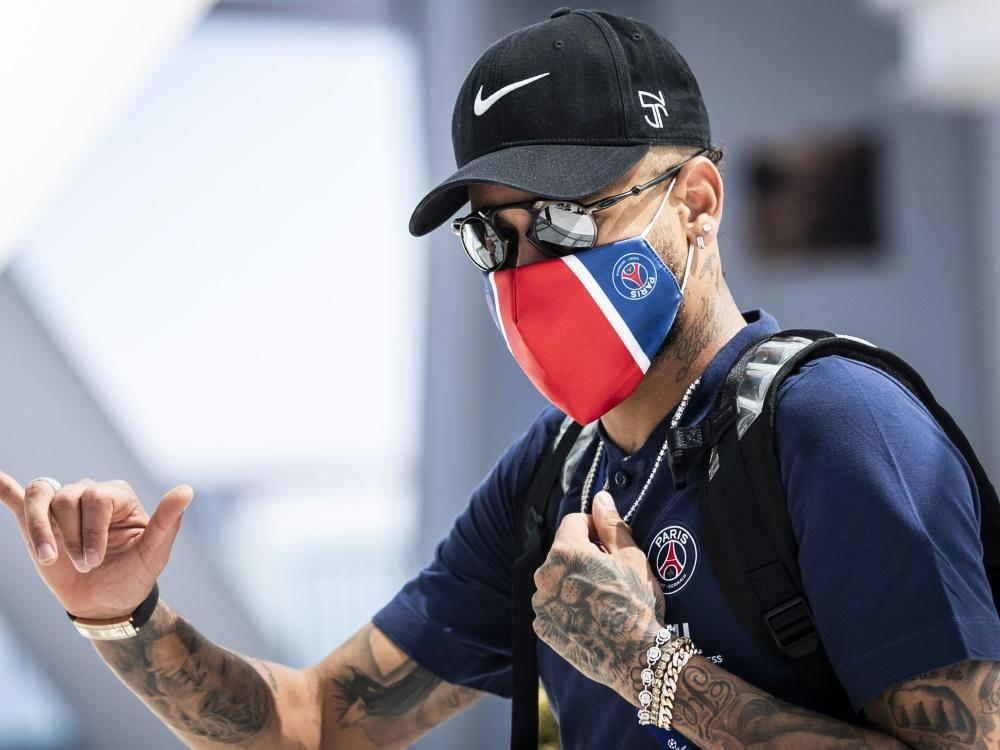 Nach Corona-Erkrankung: Neymar steht wieder im Kader