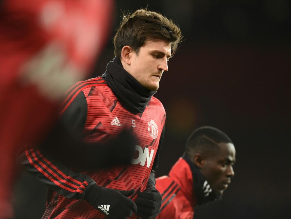 Harry Maguire bleibt Kapitän von Manchester United