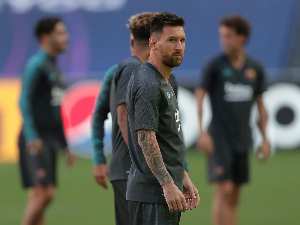 Lionel Messi trainiert wieder mit dem FC Barcelona
