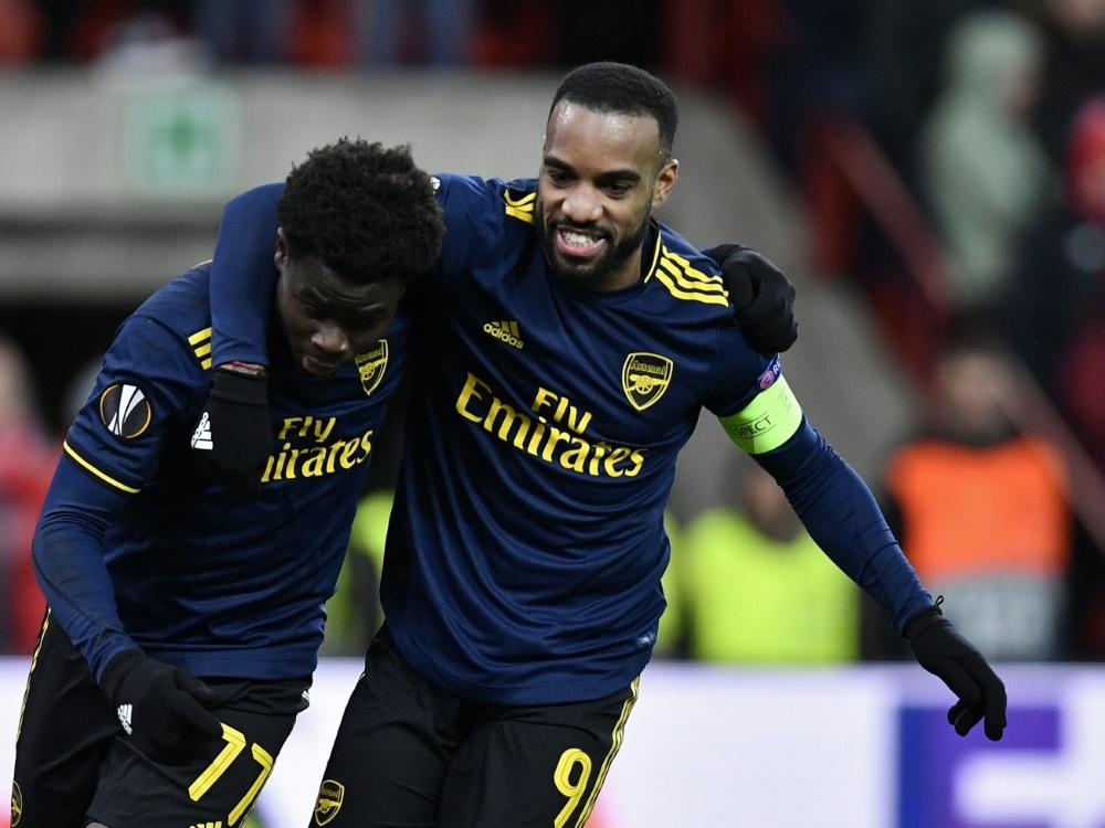 Der FC Arsenal bezwingt den FC Fulham 3:0