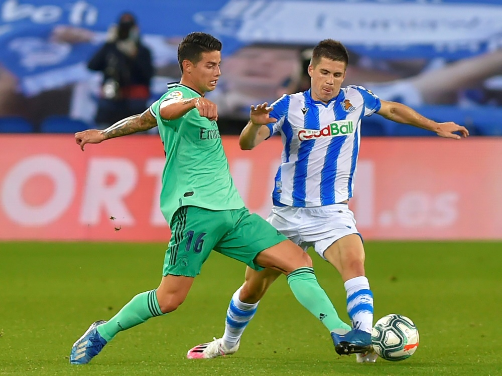 Neuanfang beim FC Everton: James Rodriguez