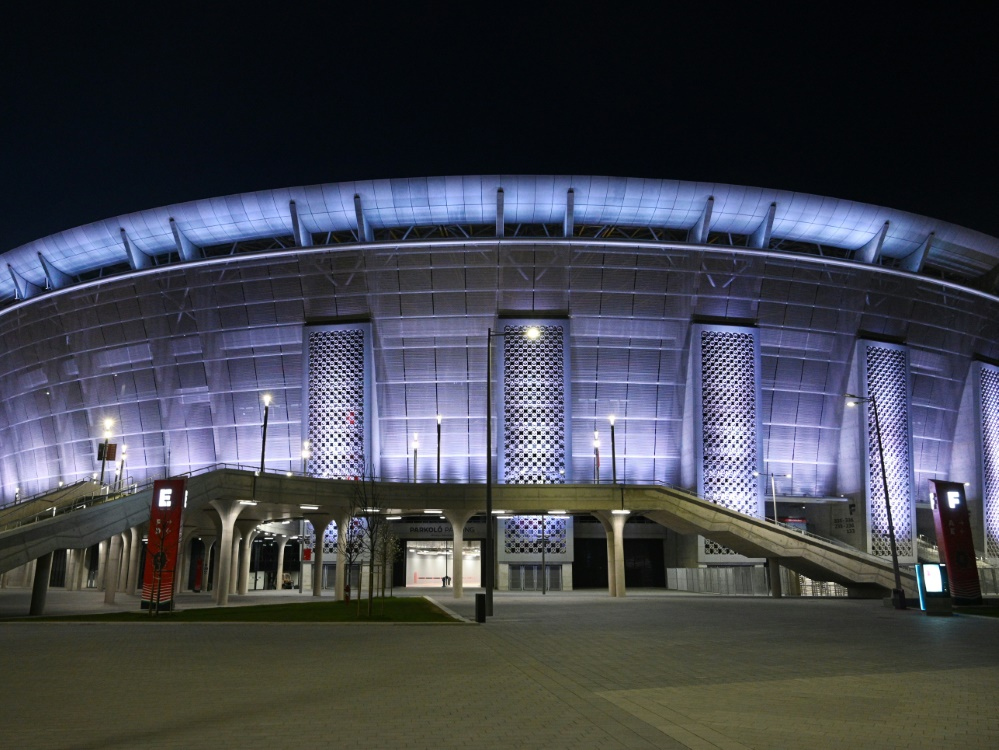 In der Puskas Arena wird der Supercup ausgetragen