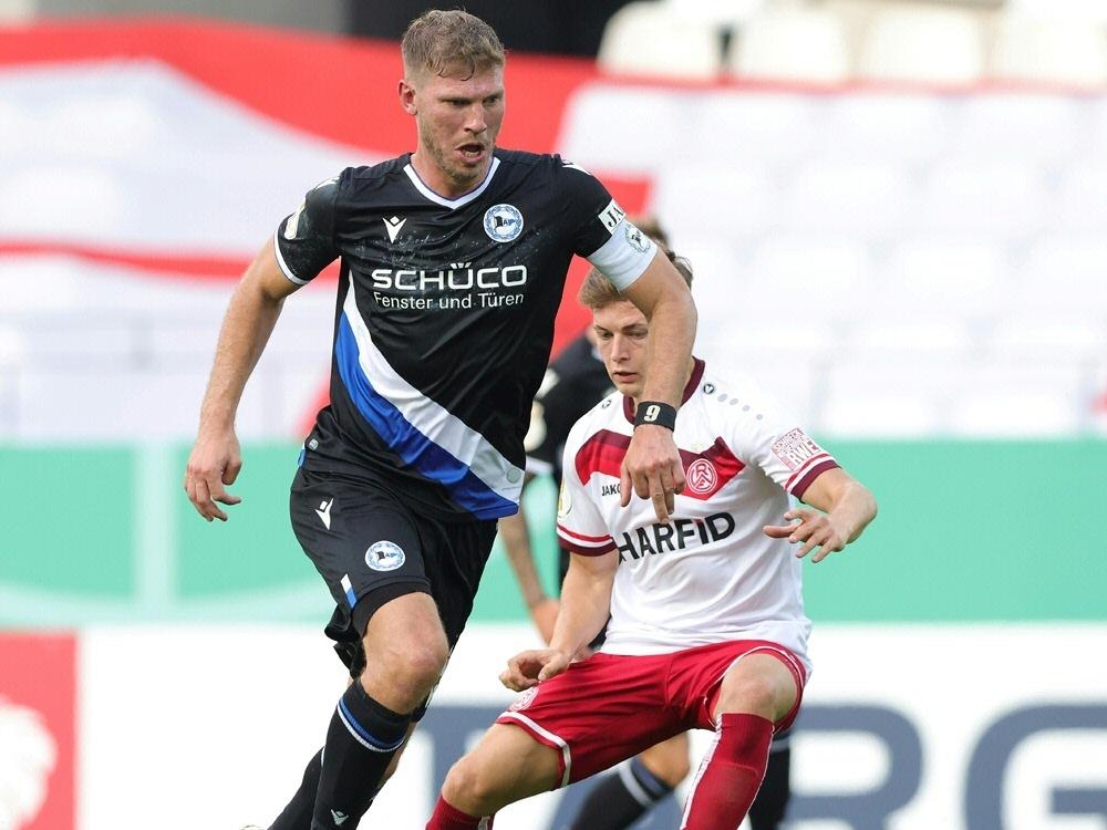 Fabian Klos und Bielefeld scheitern an Rot-Weiss Essen