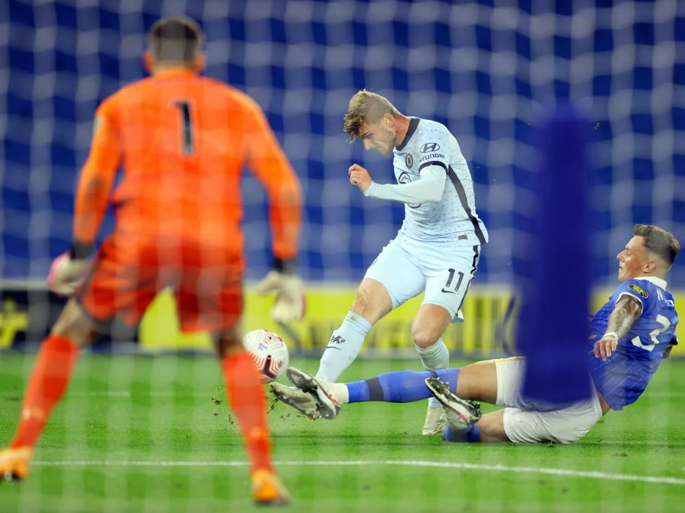 Werner feierte sein Premier-League-Debüt
