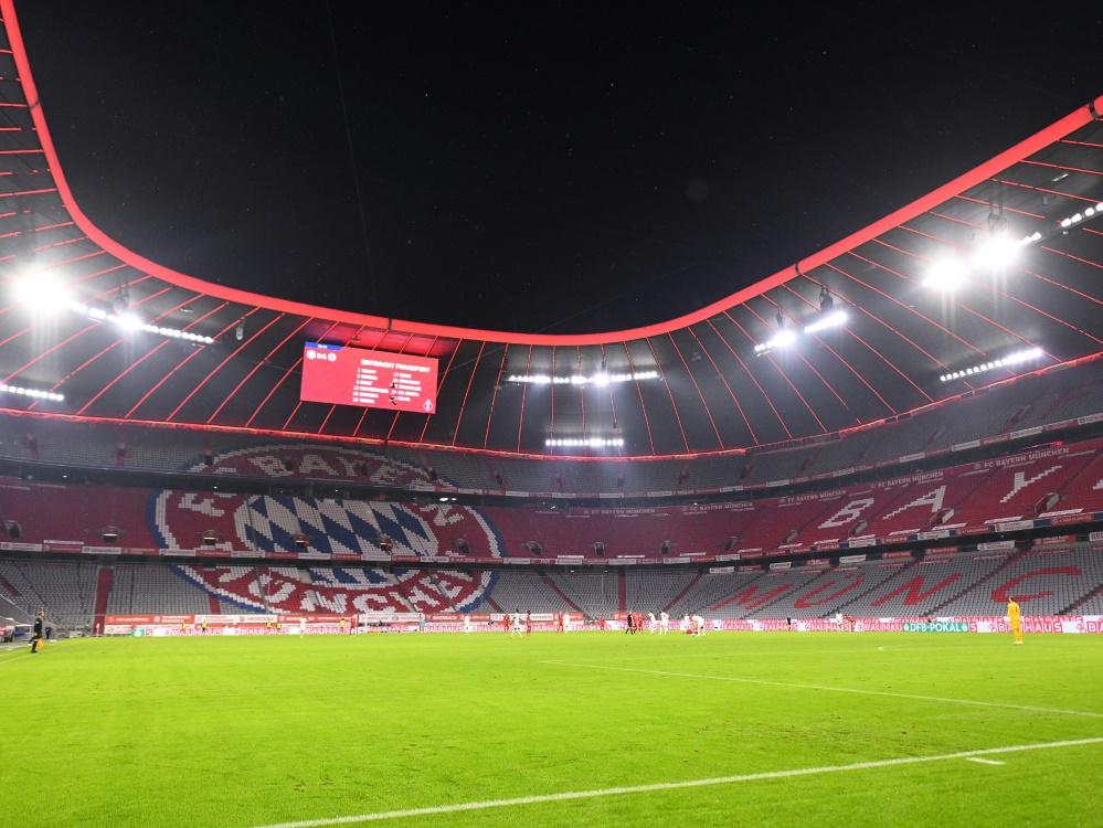 7500 Zuschauer dürfen in der Allianz Arena Platz nehmen